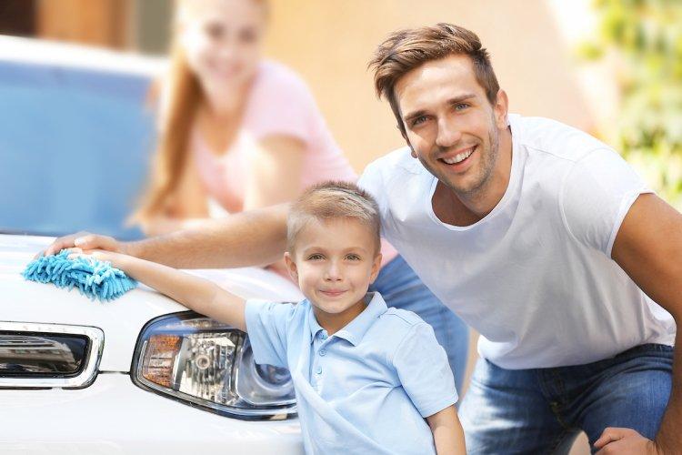 Mytí auta s Království TianDe