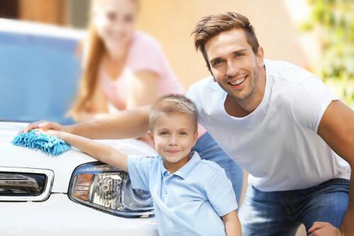 Naučte svého partnera mýt auto s TianDe