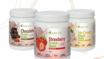 Tříměsíční kúra s proteinovými koktejly