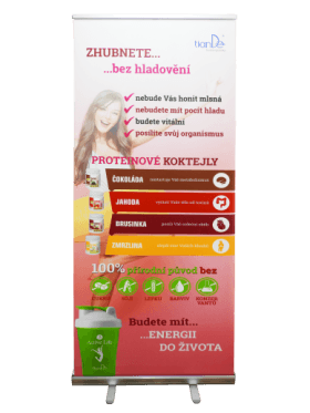 Roll-up banner TianDe