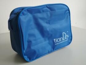 Značková taška TianDe (modrá barva)