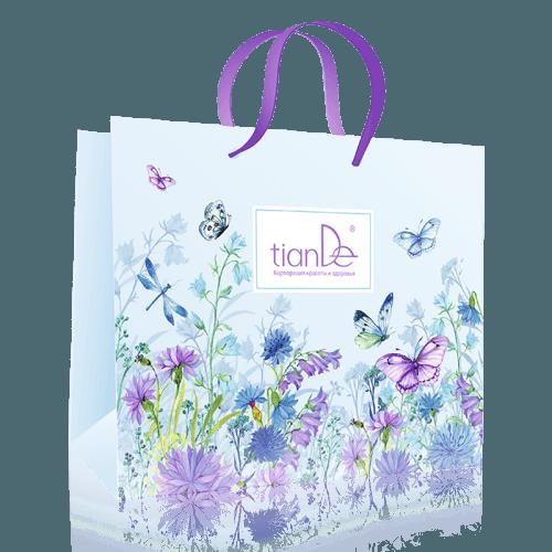 Papírová dárková taška s motýly TianDe