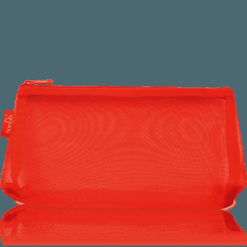 Taštička na kosmetiku TianDe červená, 1 ks