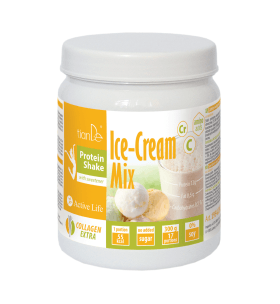 Zmrzlinový proteinový koktejl-mix se sladidlem