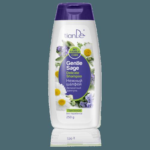 Jemný šampon Něžná šalvěj