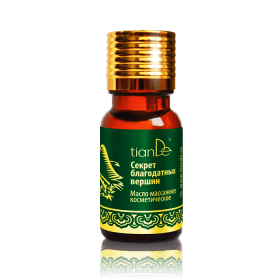 Kosmetický masážní olej Tajemství blahodárných vrcholů