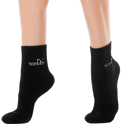 Ponožky s bodovou aplikací turmalínu - vel. 22