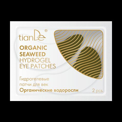 Hydrogelové polštářky na oční víčko Organické vodní kaly