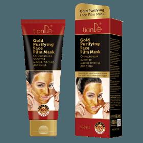 Čisticí zlatá slupovací pleťová maska