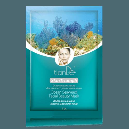 Pleťová maska s mořskými řasami