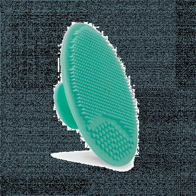 Houba na mytí a masáž obličeje - tyrkysová barva
