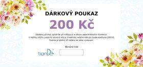 Dárkový poukaz 200 Kč