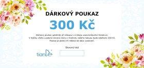 Dárkový poukaz 300 Kč