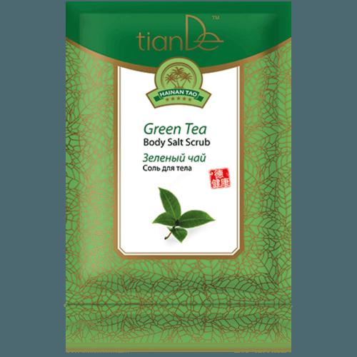 Tělová sůl Zelený čaj