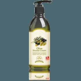 Krémový sprchový gel slunečné olivy