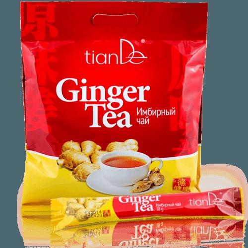Zázvorový nálev s hnědým třtinovým cukrem - Doplněk stravy