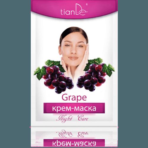 Pleťová maska hroznové víno