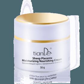 Hydratační krém z ovčí placenty kosmetiky TianDe