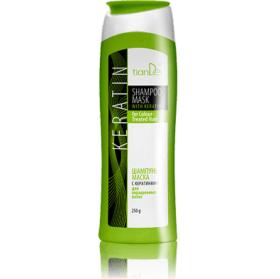 Šampon-maska s keratinem pro barvené vlasy