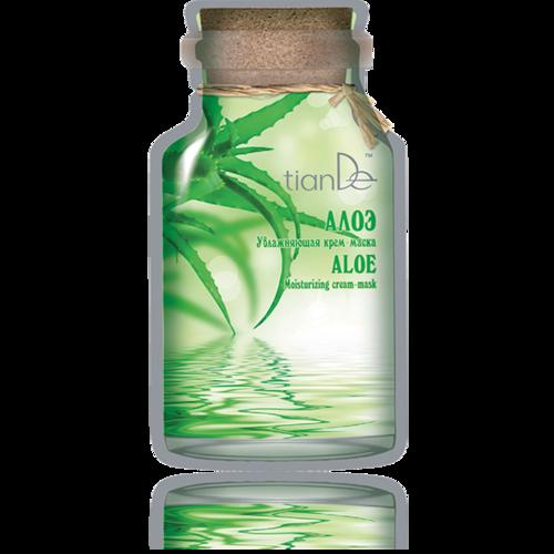 Hydratační krémová maska Aloe