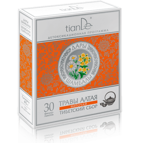Bylinná směs Tibetský sběr - Doplněk stravy