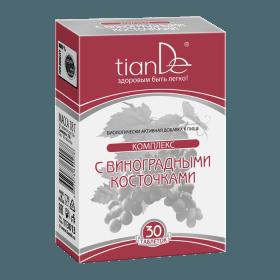 Tablety s extraktem z jader vinné révy se sladidlem