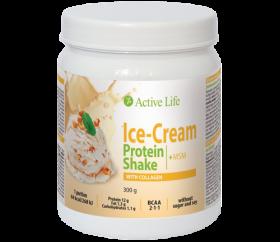 Zmrzlinový proteinový koktejl s kolagenem