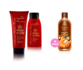Luxus pro vlasy a svěží mandarinka pro tělo