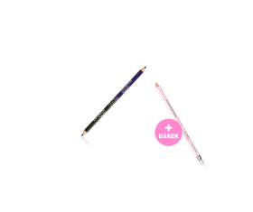 Oboustranná tužka na oči + Tužka na rty a oči - č. 196 Cool Nude