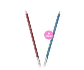 Tužka na rty a oči - č. 10 Cashmere + Dárek Tužka na rty a oči - č. 31 Azure
