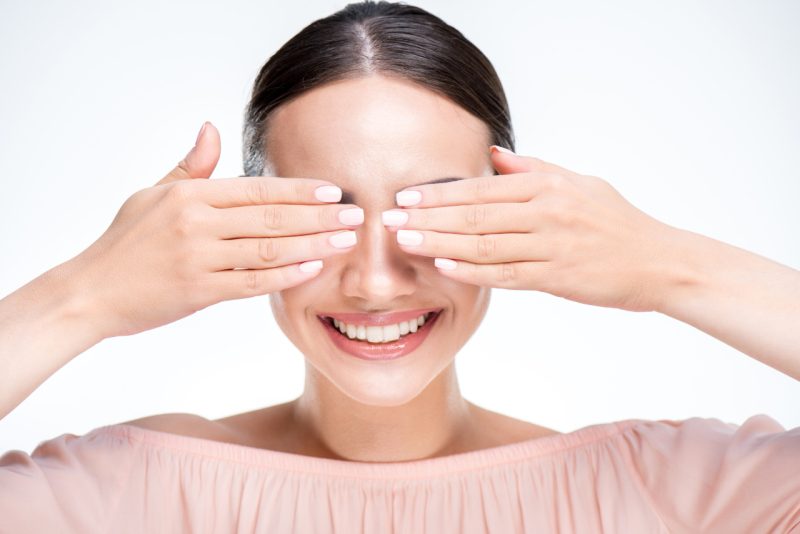 Oční masáž