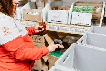 Pickování zboží TianDe v Geisu