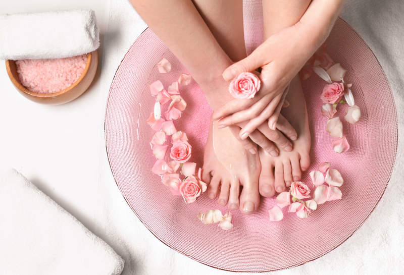 Solná koupel pro nohy - TianDe